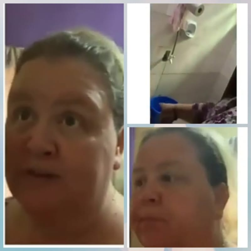 American Wife Shows The Living Condition With Her Nigerian Husband To Her Family