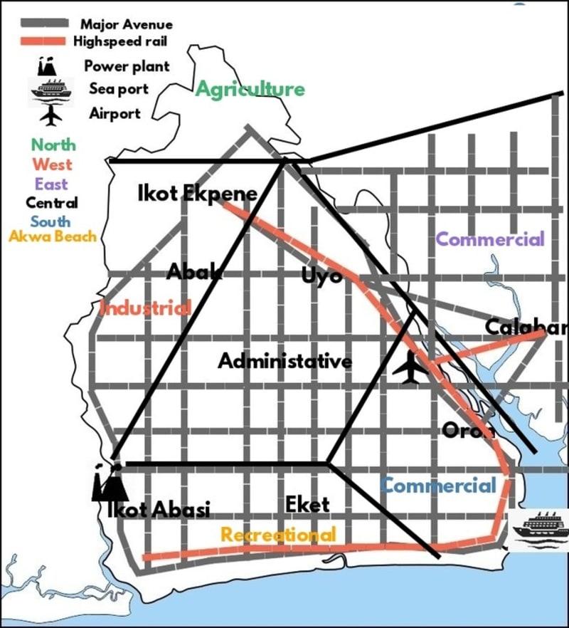 Calabar Mega City Master Plan (AKWACROSS 2040)
