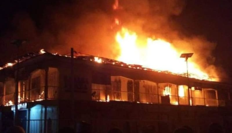 Pensioner Burns Down His House To Prevent His Estranged Wife From Returning