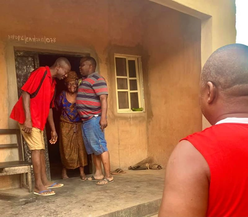 Brothers Visit Akara Seller Who Gave Them Free Snacks Everyday On Way To School