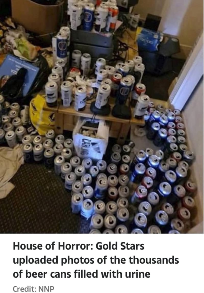 UK Tenant Moves Out From House, Leaving 5,000 Beer Cans Filled With Urine