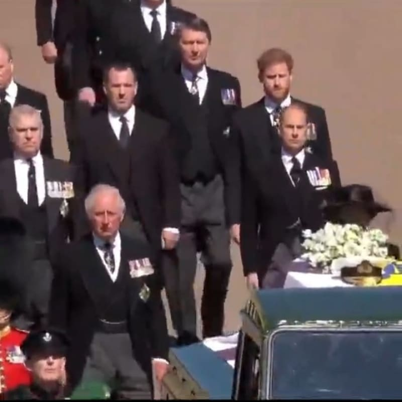 Pictures & Video From Prince Philip's Funeral In London