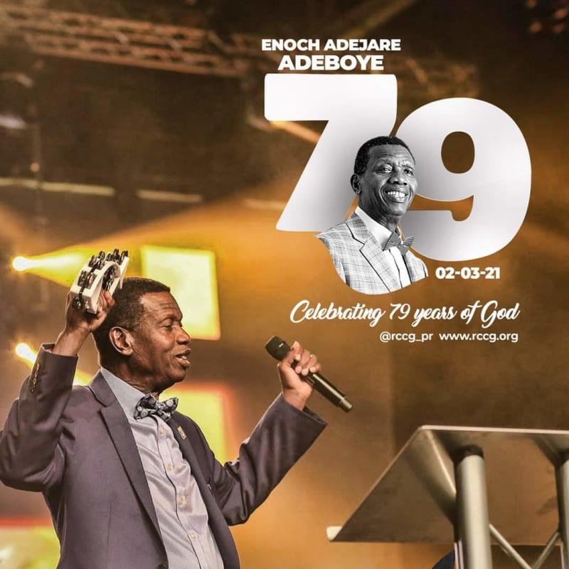 Pastor Enoch Adeboye Celebrates His 79th Birthday Today
