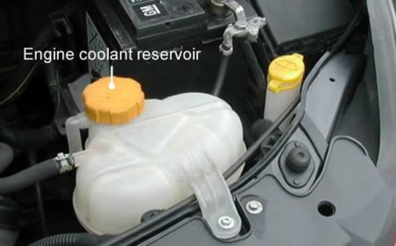 Don't Top-up Your Radiator With Water, Use Engine Coolant
