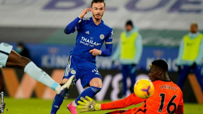 Ndidi Scores As Leicester Beat A Below Par Chelsea To Top The EPL