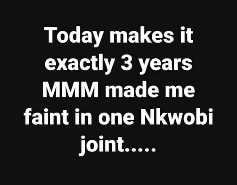 Celebrating  MMM  3years Crashing Anniversary With funny Throwback Memes