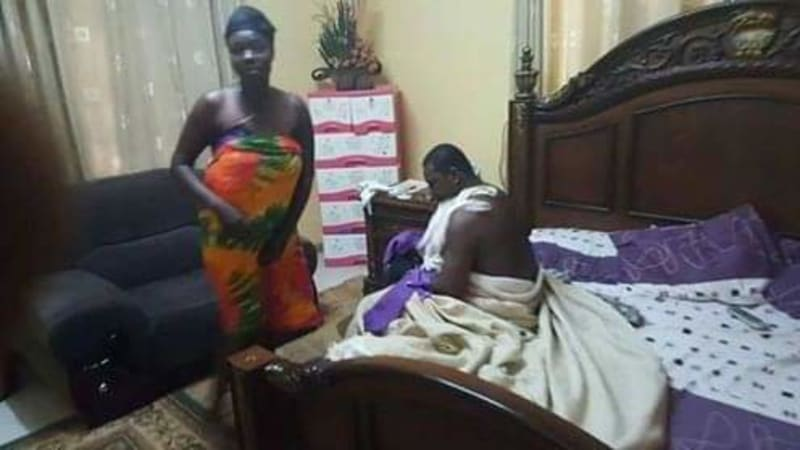 Pastor Caught Pants Down With A Female Congregant