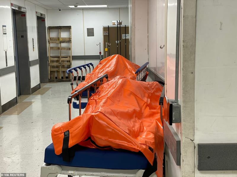 New York City, Epicenter Of US COVID-19 Outbreak (Disturbing Photos)