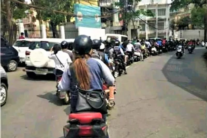 Where In Nigeria Can Road Traffic Be As Discipline As This?