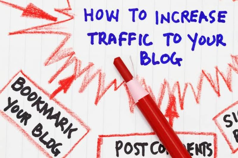 how to get more traffic to your blog