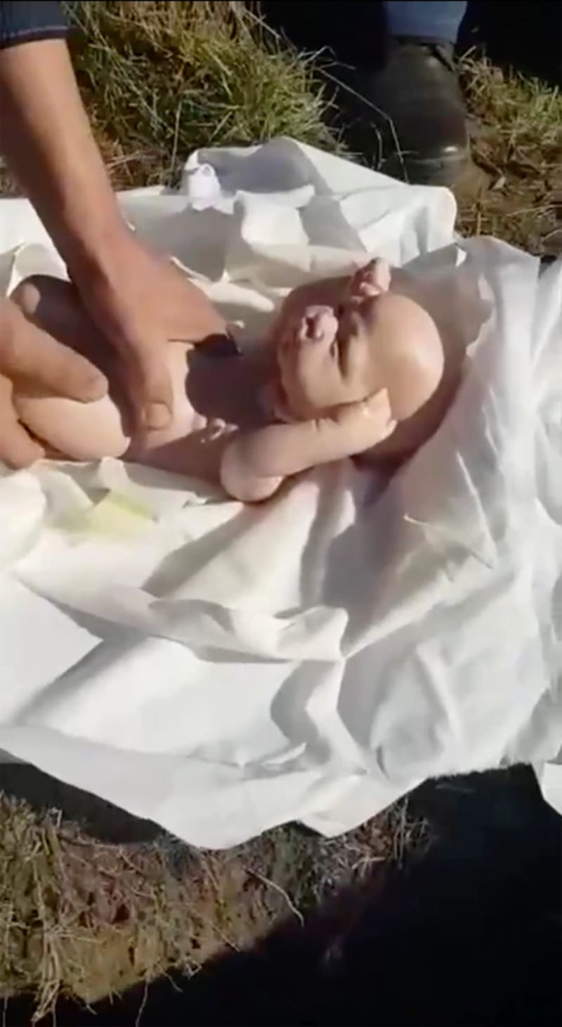 Man Discovers Wife Faked Pregnancy & Death Of Twins, Finds Dolls In Grave