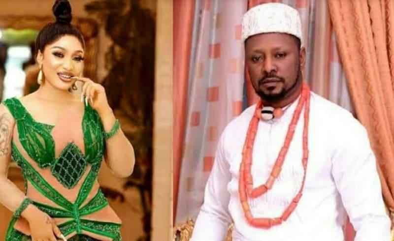 Tonto Dikeh Trolls Ex-Lover Prince Kpokpogri After His Reported Arrest