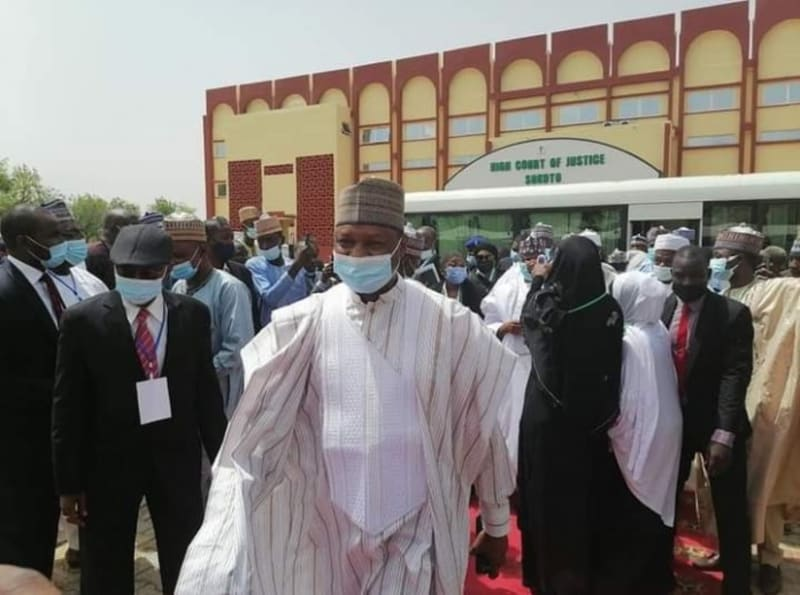 Nigeria's Attorney General, Malami Collapses In Sokoto, Hospitalised