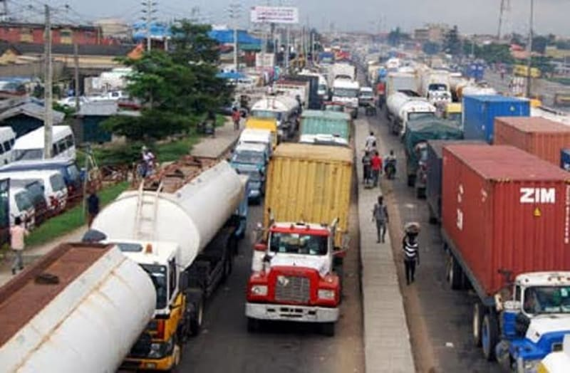 Lagos Bans Trucks, Trailers On Roads In Day Time