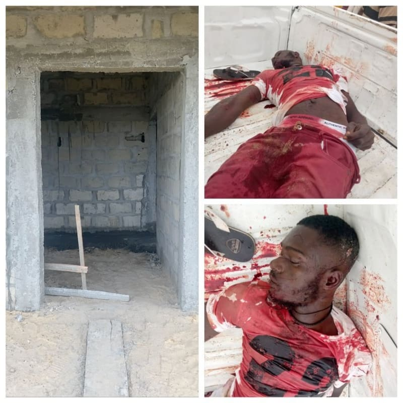 Delta Lockdown: Soldier Shoots Man Dead In Warri - Mr Jollof (Graphic Photos)