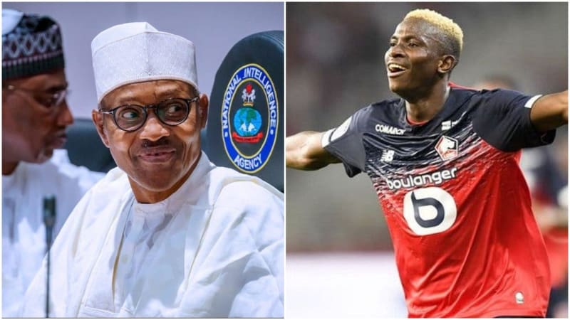 President Buhari Delighted With Osimhen's Transfer To Napoli - Ambassador
