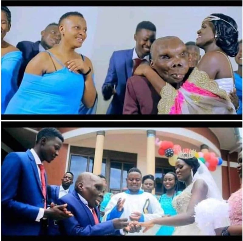 """Ugliest Man"" In Uganda Marries Third Wife In Grand Style (Photos)"