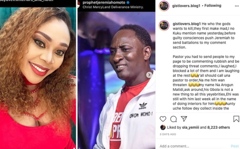 Instagram Blogger, Mary David Accused Of Blackmailing Personalities