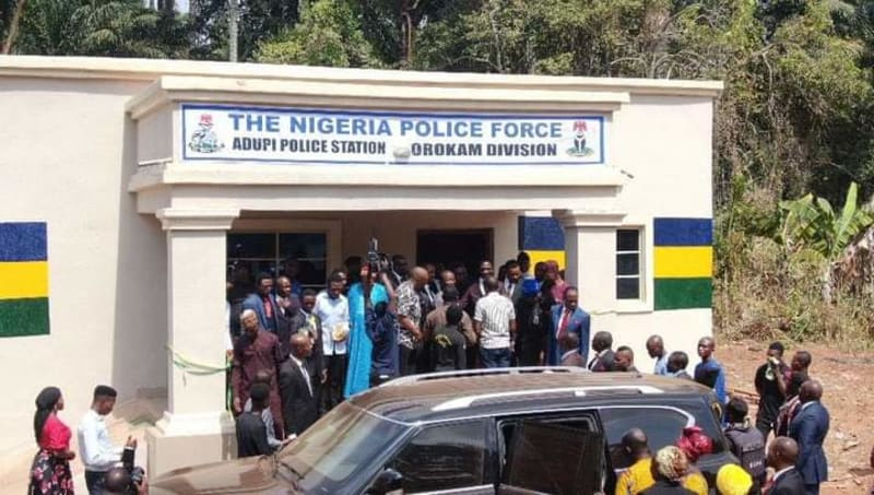 Dr. Paul Enenche Of Dunamis Commissions Police Station, Hospital In Benue