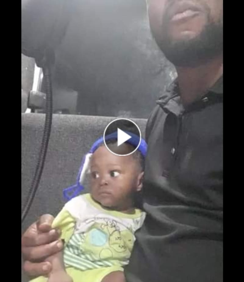 Woman Forgets Her Baby Boy Inside A Commercial Bus In Imo (Video)