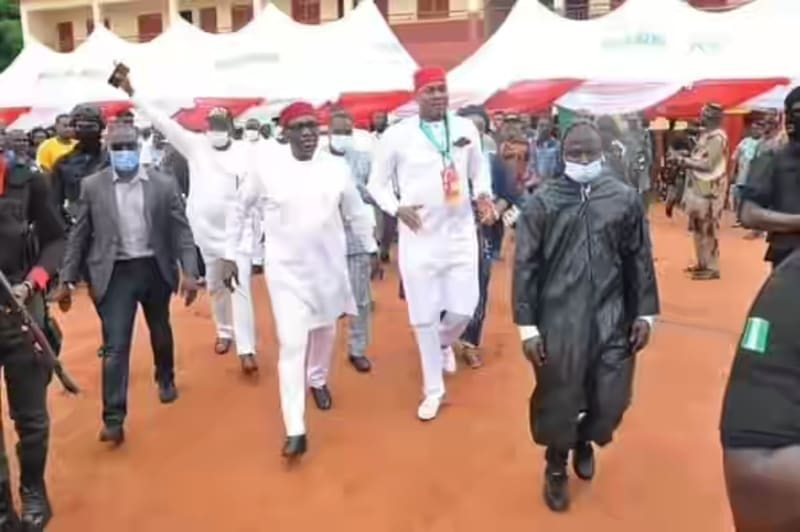 Anambra 2021: Andy Uba Campaigns In Onitsha North And South
