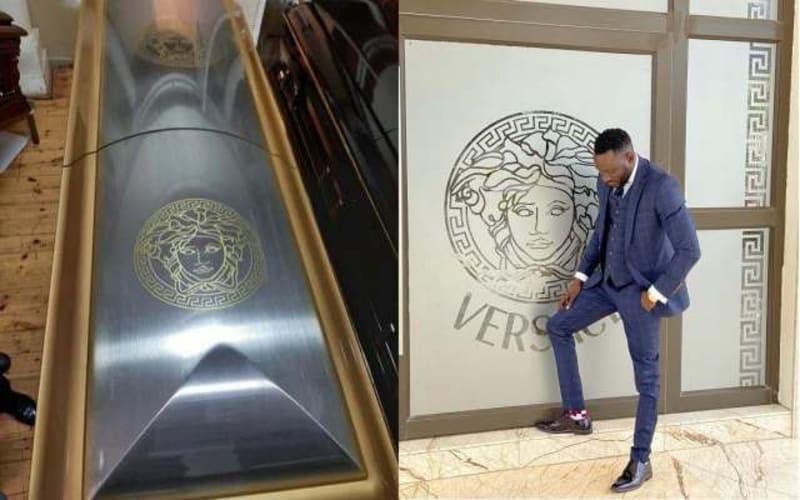 Flamboyant Zimbabwean Socialite, Ginimbi Buried In A Versace Coffin