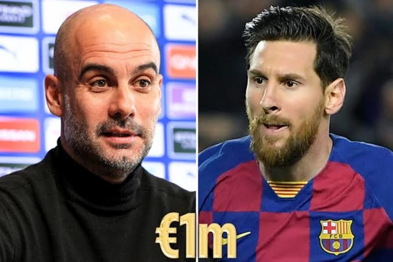 Pep Guardiola And Lionel Messi Donate €1million Each To Help Fighght Coronavirus
