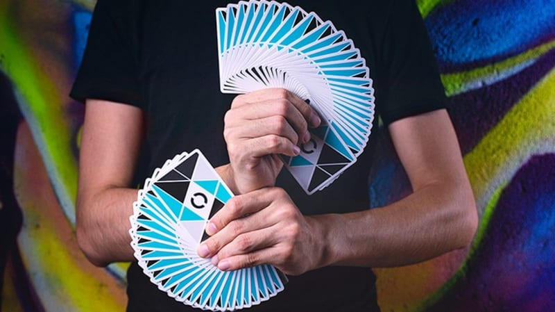 See How A Nigerian Guy Juggles Cards At An Event, Real Or Magic?