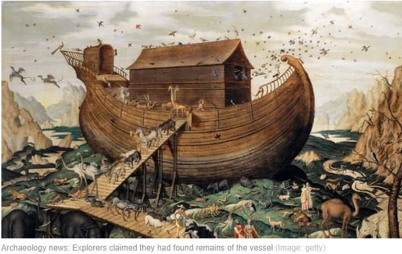 Archaeology: Explorers '99.9% Sure' Remains  Of Noah's Ark Is Discovered