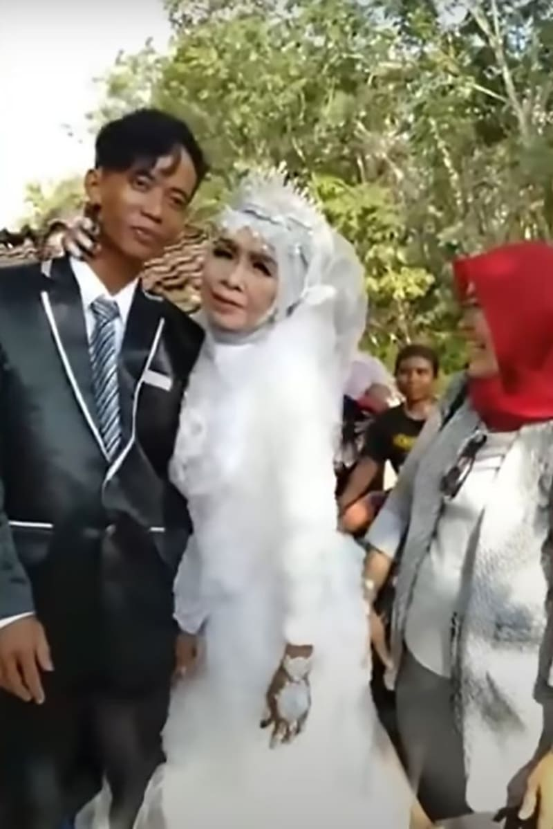 65-Year-Old Indonesian Grandmother Marries Her 24-Year-Old Adopted Son