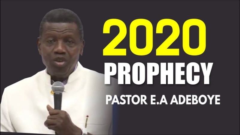 RCCG Prophecies For 2020 By Pastor E.A. Adeboye