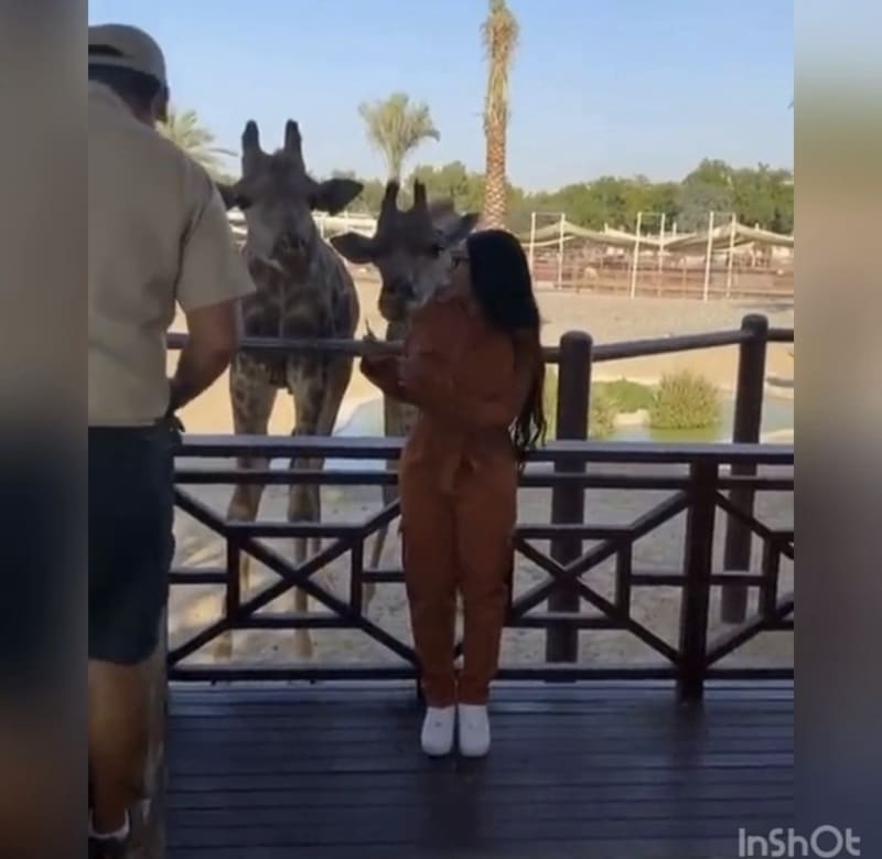 Hushpuppi And Blac Chyna Visit The Fame Park In Dubai