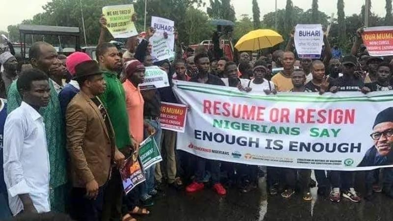 Students Protest Against Closure Of Tertiary Institutions