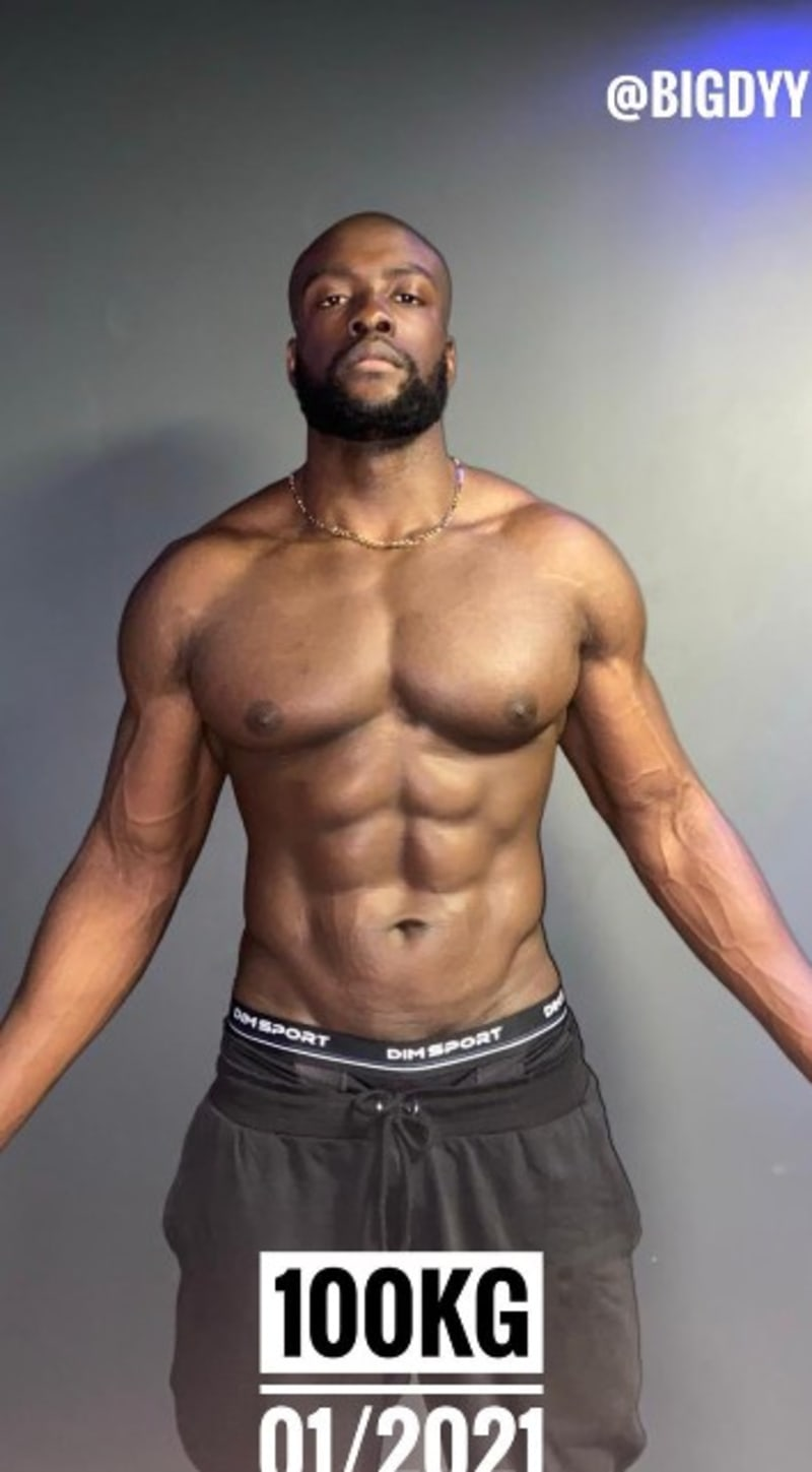 Man Shows His Amazing Body Transformation In Just Two Years