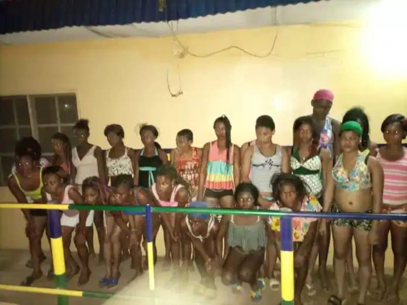 22 Teenage Girls From Akwa Ibom Rescued From Ogun Brothel