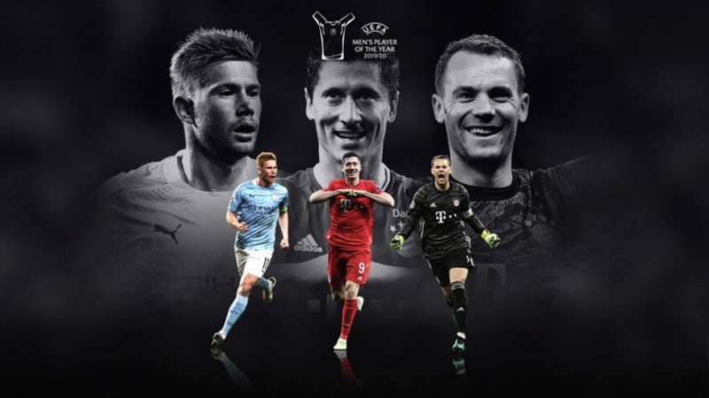 Messi And Ronaldo Omitted From UEFA Men's Poty Nominations