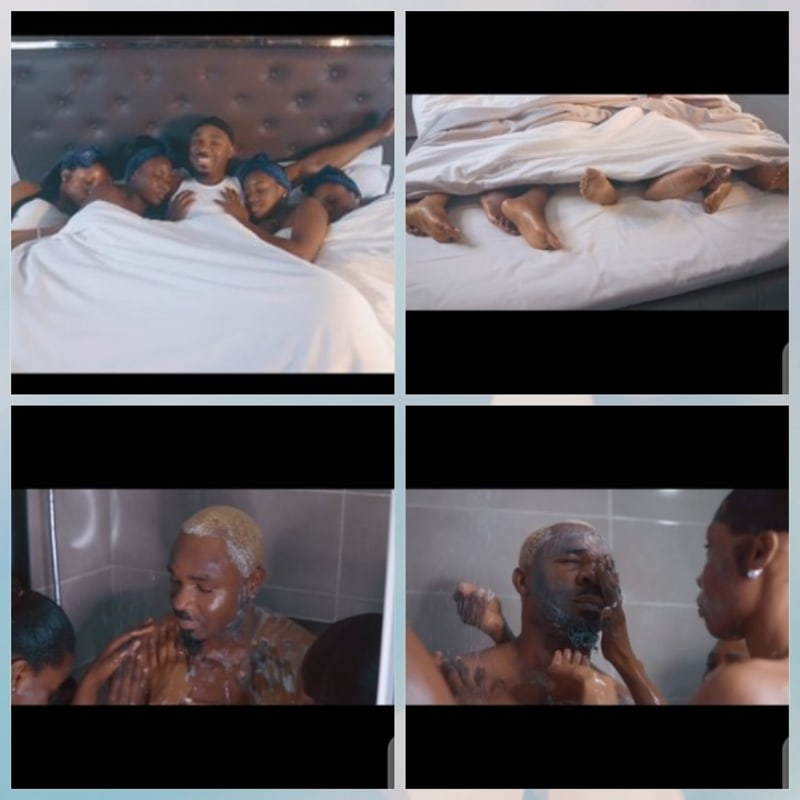 Pretty Mike Bathes With 4 Ladies. Shares Video Online. Celebrities React