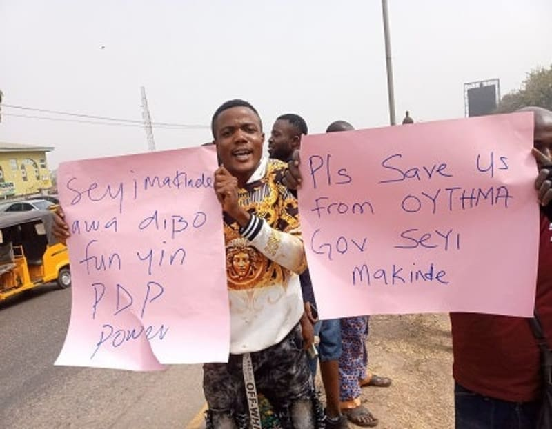 Ibadan Tricycle Operators Protest Against Passenger Policy