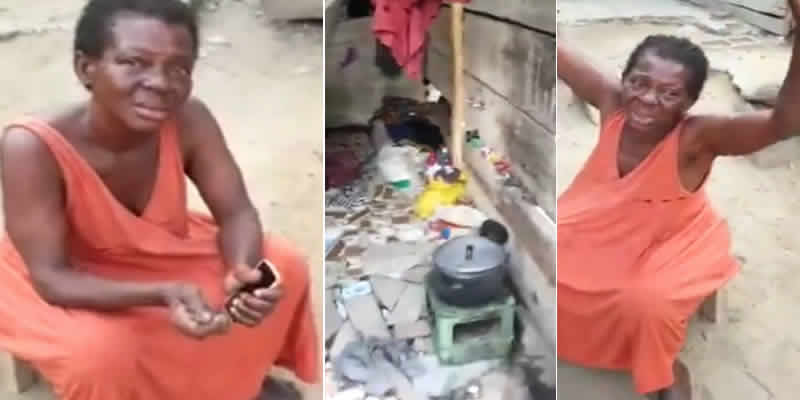 First Wife Of Edo State Billionaire, Cacudu Benson, Now Homeless (Video)