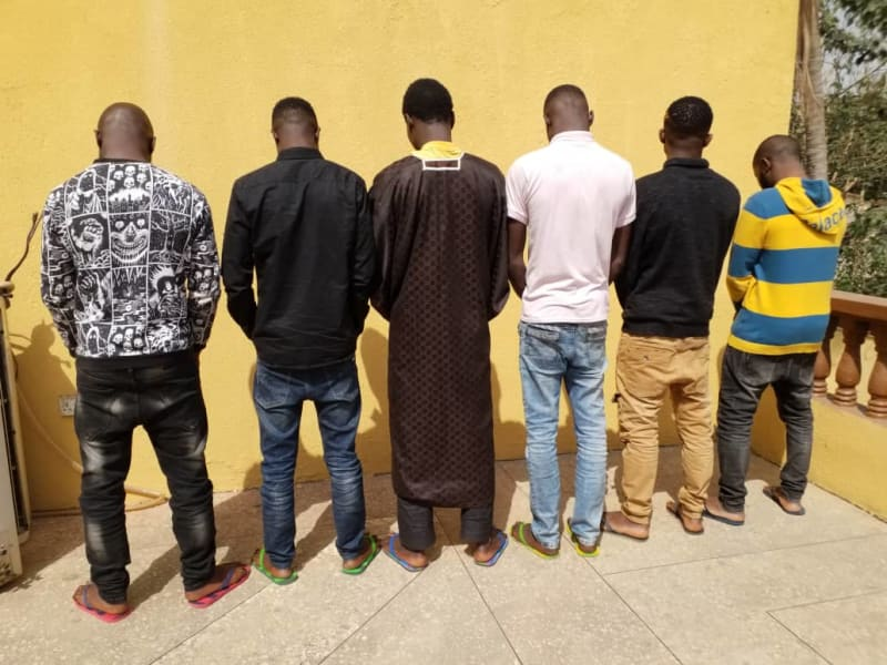 EFCC Arrests 22-Year-Old Wanted Yahoo Boy & His Colleagues