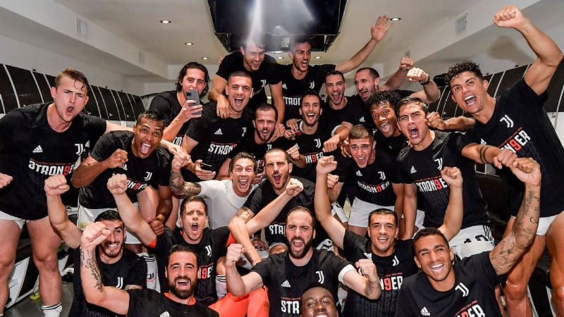 Juventus Wins Ninth Consecutive Serie A Title