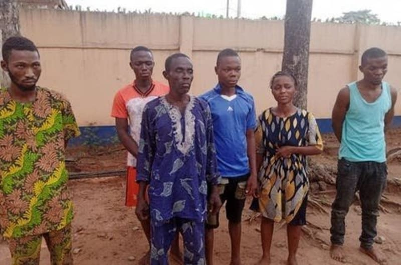 Ogun Police Arrest Family Of 7 Who Specializes In Kidnapping