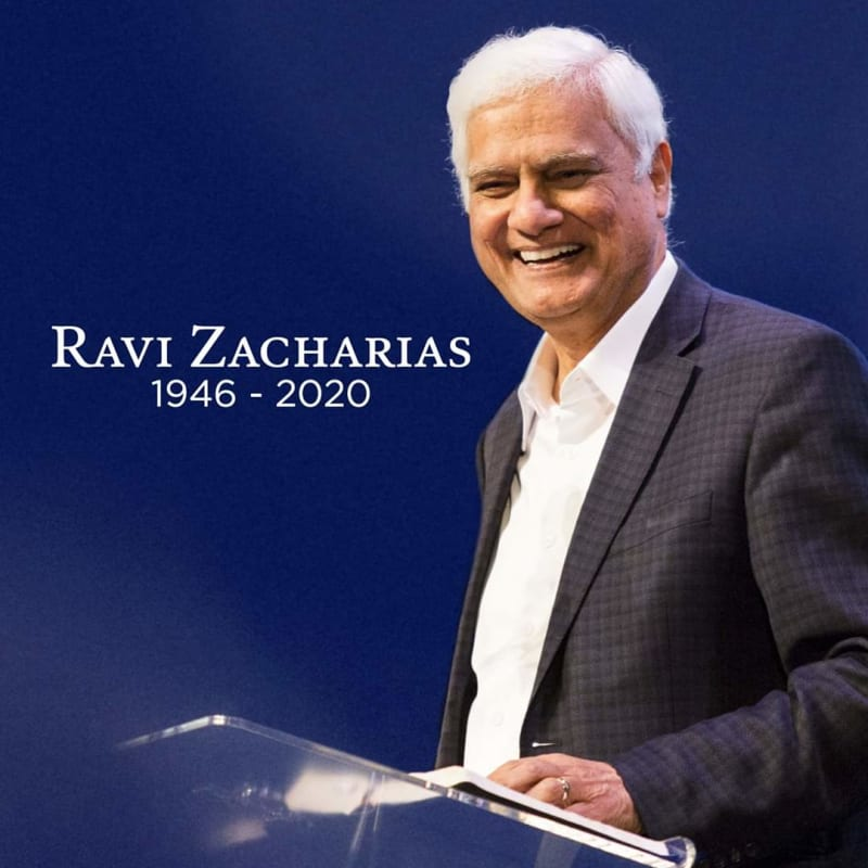 World Renowned Christian Apologist, Ravi Zacharias Dies Of Cancer At 74