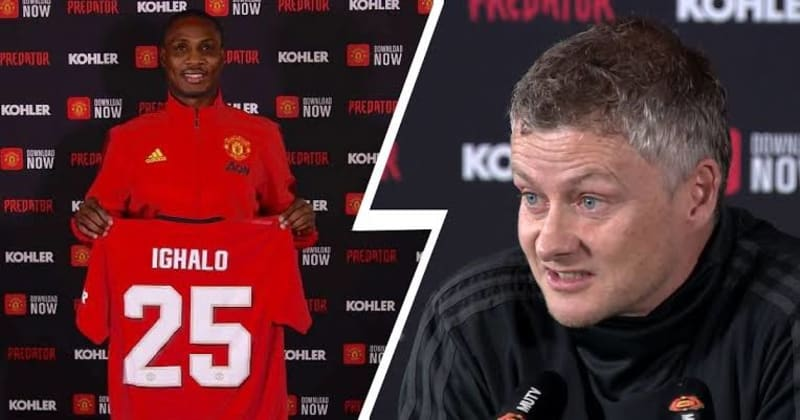 We May Turn Ighalo's Loan Into A Permanent Deal - Solskjaer