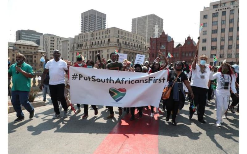 Angry South Africans Hand Over List Of Demands To Nigeria's SA Ambassador
