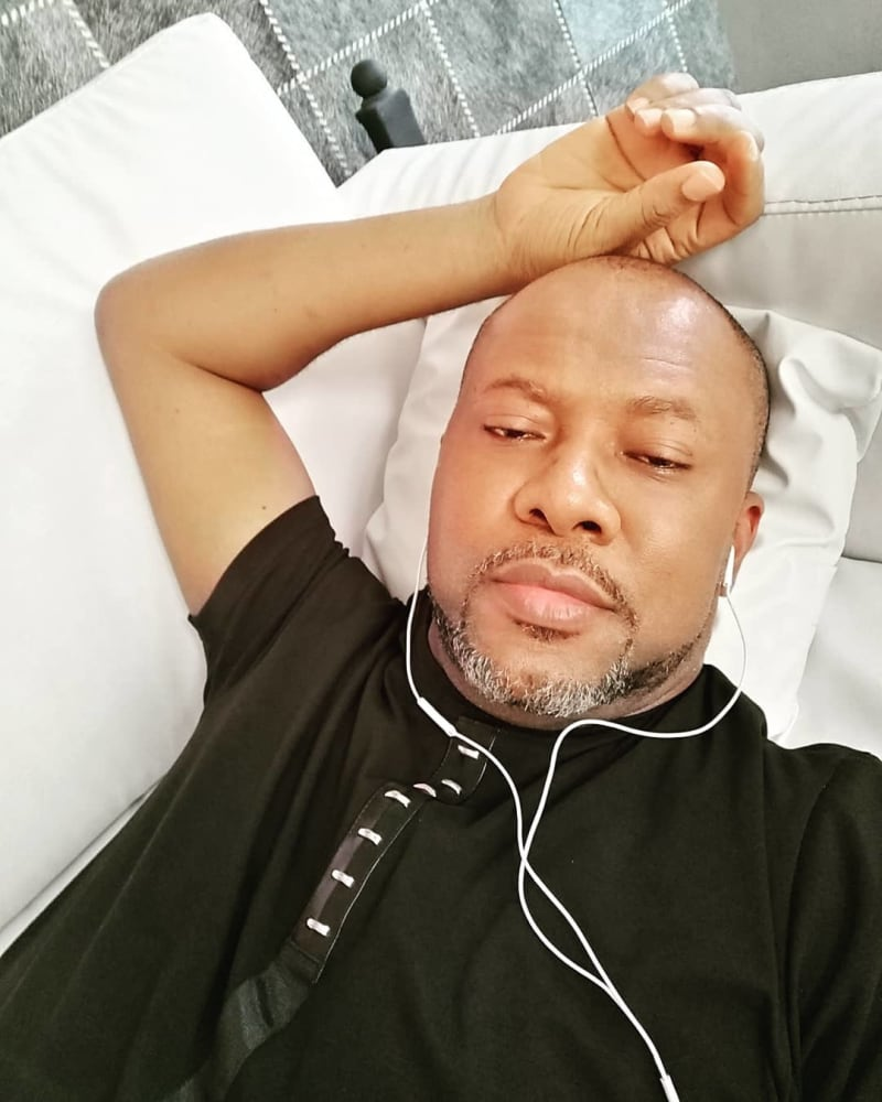 Pete Edochie's Son Spends N6M Treating COVID-19 That Damaged 80% Of His Lungs