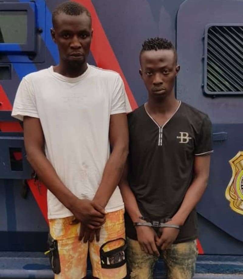Police Arrest Two Traffic Robbery Suspects, Recover Stolen Phones