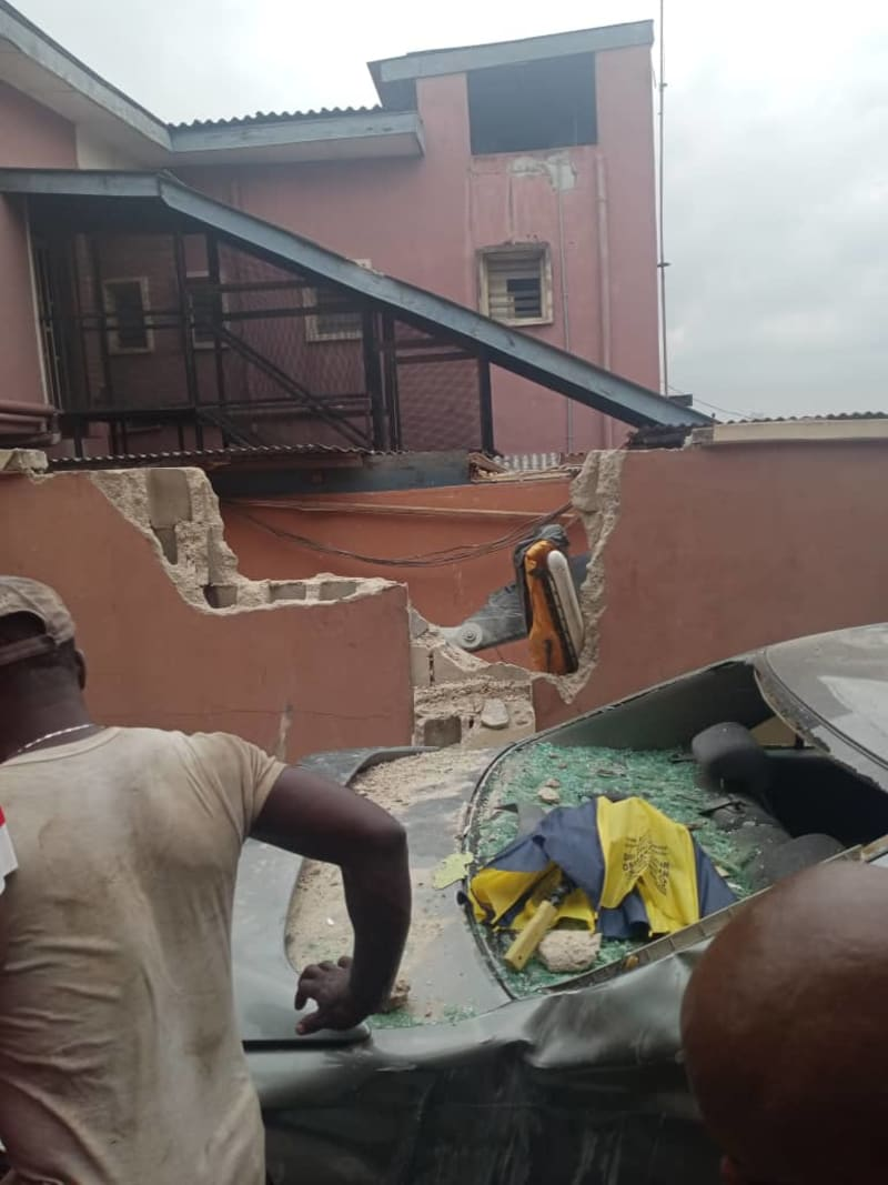 2 People Die As Helicopter Crashes Into Building In Opebi