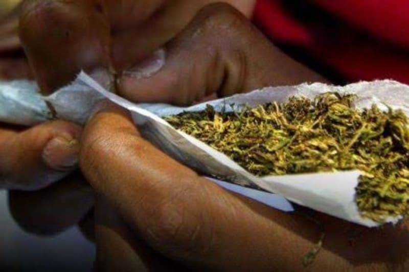 Youths Protest Over High Cost Of Marijuana  In Ilorin