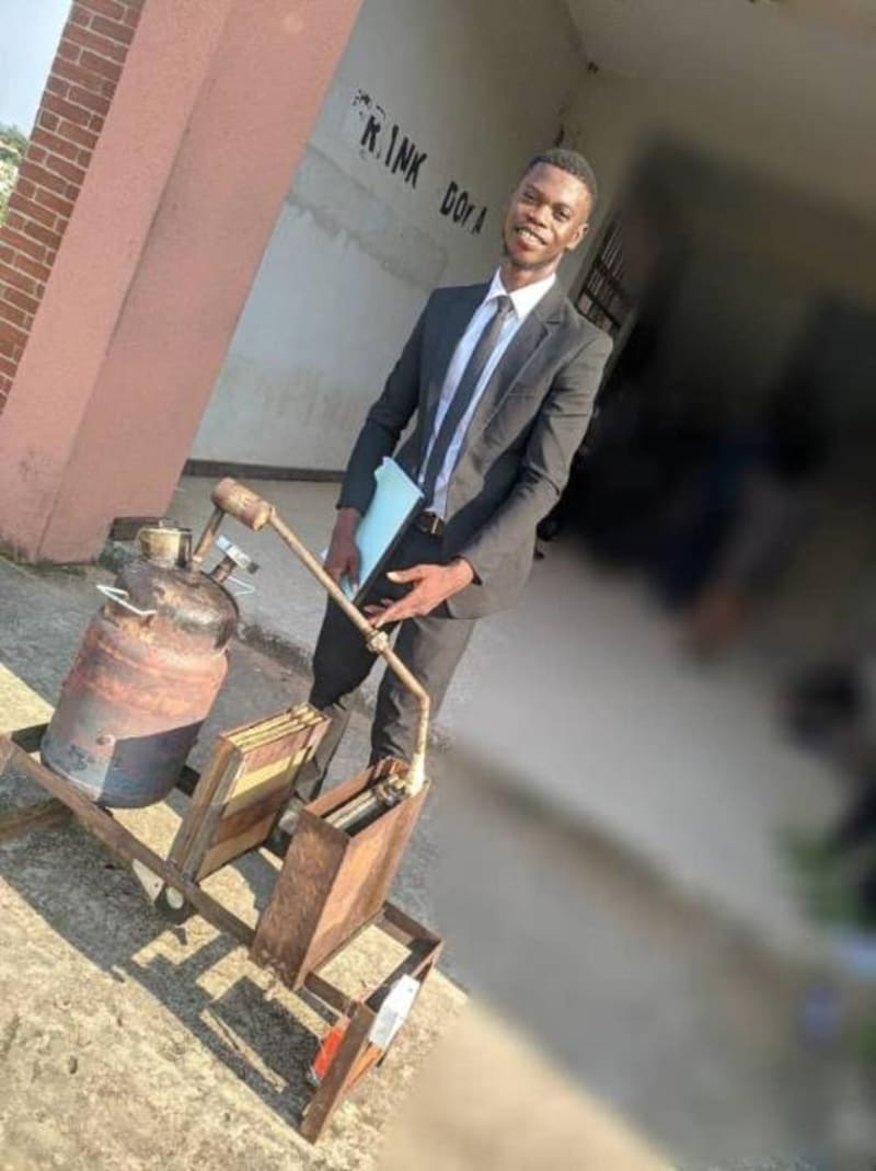 Machine Invented By UNIZIK Student That Can Convert Pure Water Sachet To Fuel